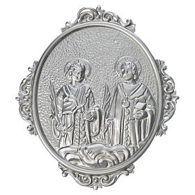 Confraternity Medal in brass, Saints Cosmas and Damian s1