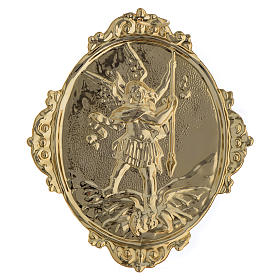 Confraternity Medal in brass, Saint Michael s3