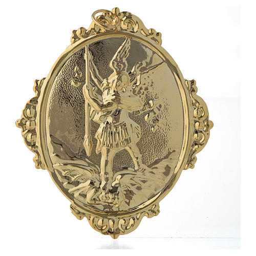 Confraternity Medal in brass, Saint Michael 1
