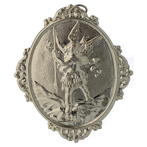 Confraternity Medal in brass, Saint Michael 2