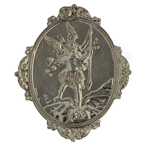 Confraternity Medal in brass, Saint Michael 4