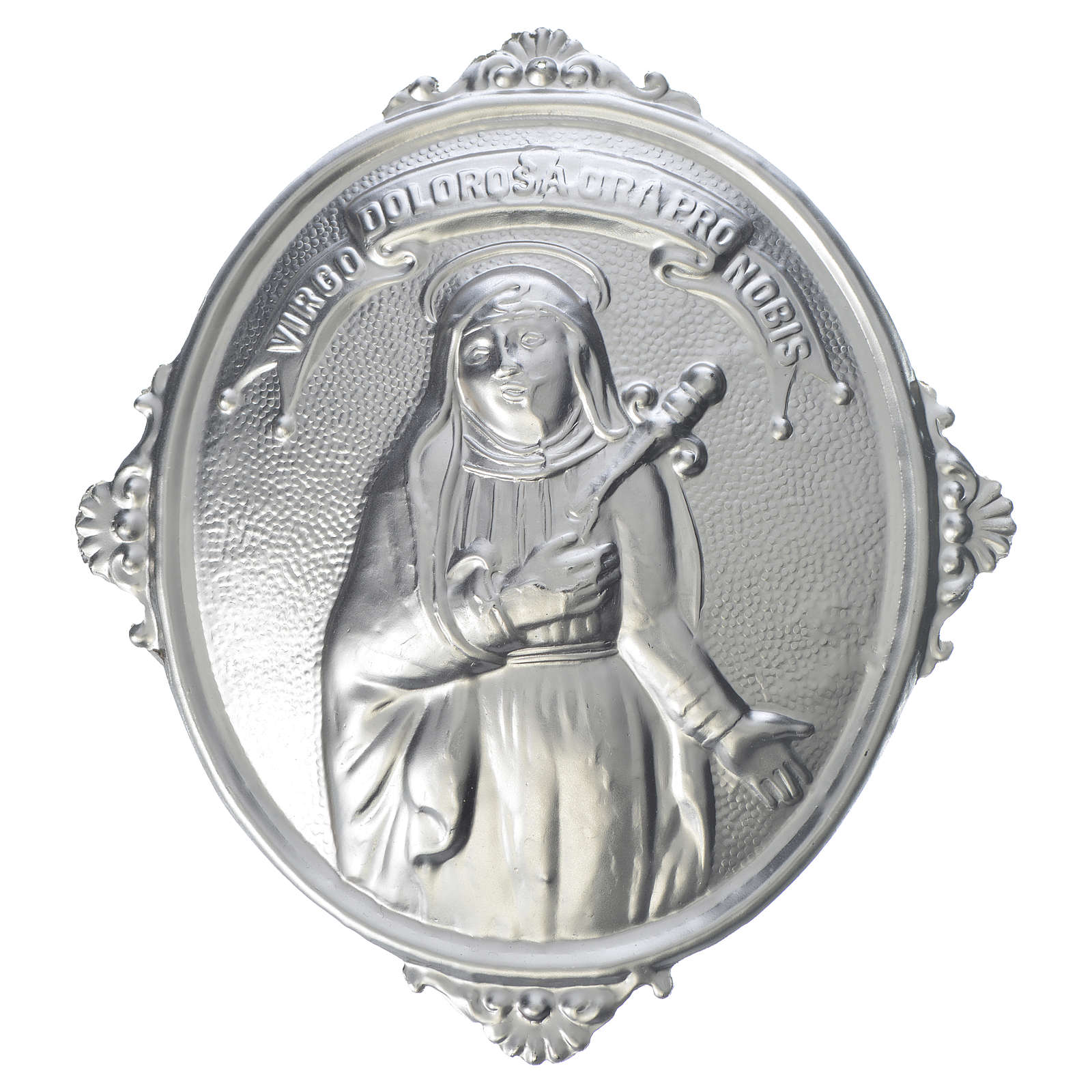 Confraternity Medal in brass, Our Lady of Sorrows 3