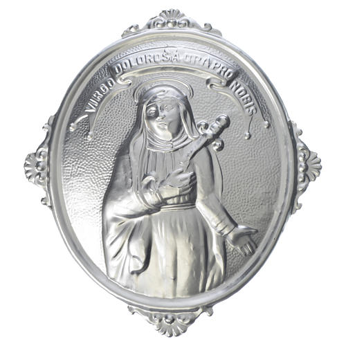 Confraternity Medal in brass, Our Lady of Sorrows 1