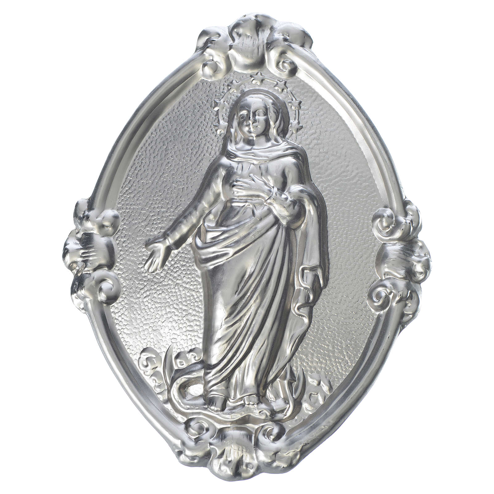 Confraternity Medal in brass, Immaculate Conception 3