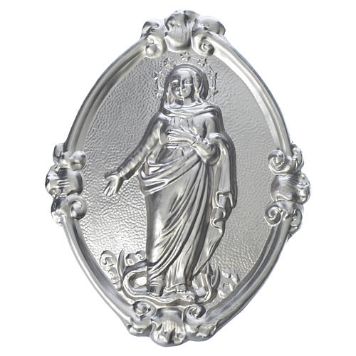 Medalla cofradía Inmaculada latón 1