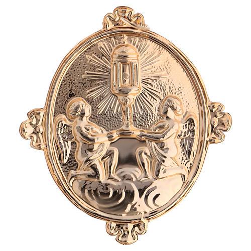 Medalla cofradía Santísimo Sacramento y Custodia 2