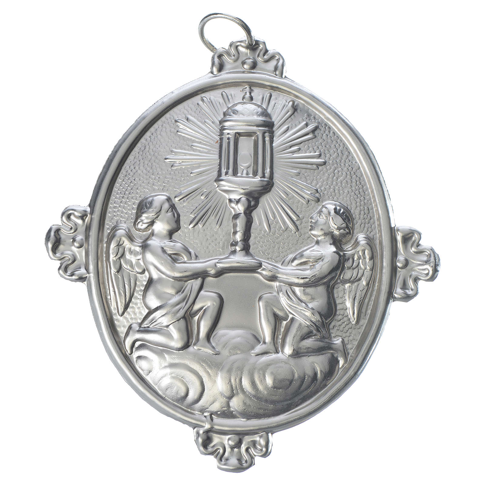 Confraternity Medal in brass, Blessed Sacrament Ambrosian Monstr 3