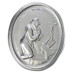 Medalla cofradía S. Antonio de Padua latón s1