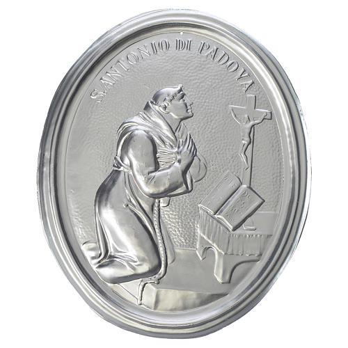 Medalla cofradía S. Antonio de Padua latón 1
