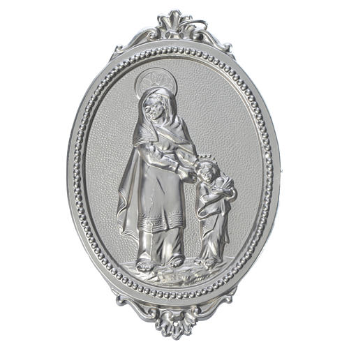 Confraternity Medal in brass, Saint Anne 1