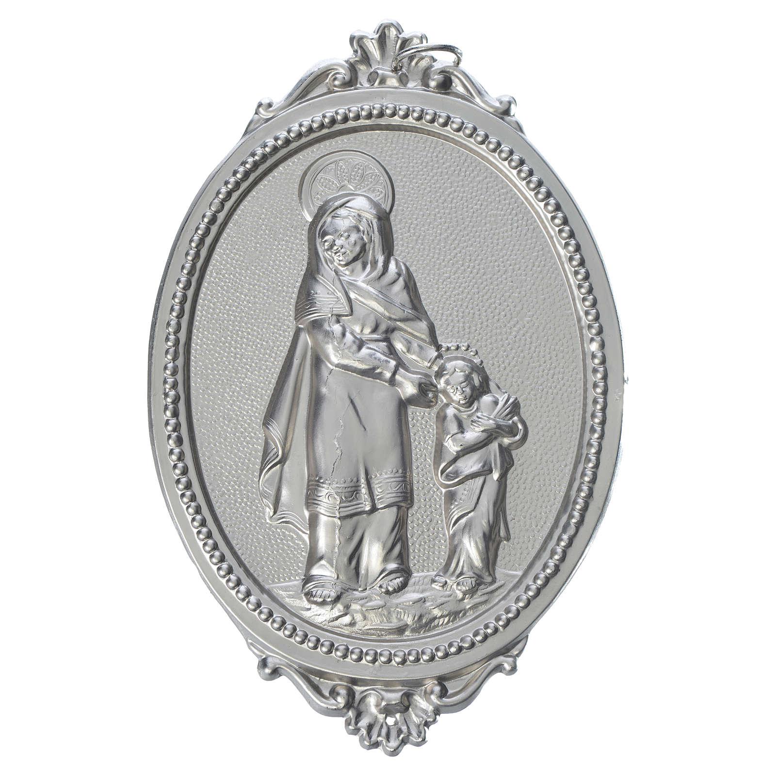 Medalla cofradía Santa Ana latón 3