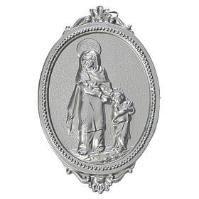 Medalla cofradía Santa Ana latón s1