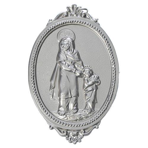 Medalla cofradía Santa Ana latón 1
