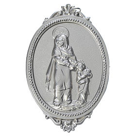 Confraternity Medal in brass, Saint Anne s1