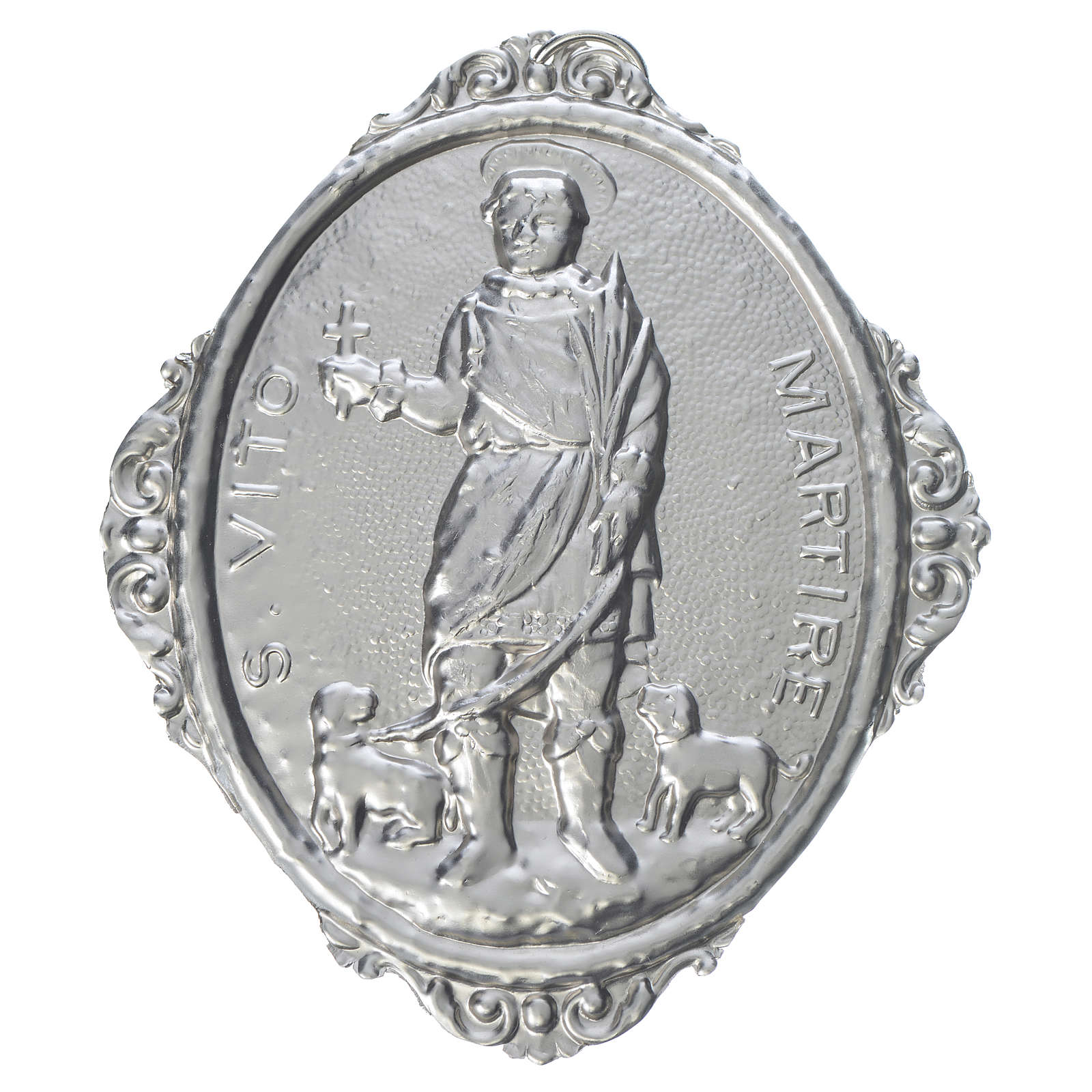 Confraternity Medal in brass, Saint Vitus Martyr 3