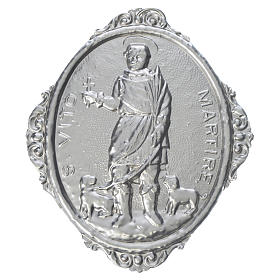 Confraternity Medal in brass, Saint Vitus Martyr s1