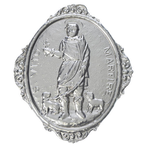Confraternity Medal in brass, Saint Vitus Martyr 1