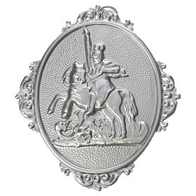 Confraternity Medal in brass, Saint George s1