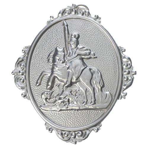 Confraternity Medal in brass, Saint George 1