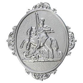 Medalla cofradía San Jorge latón s1