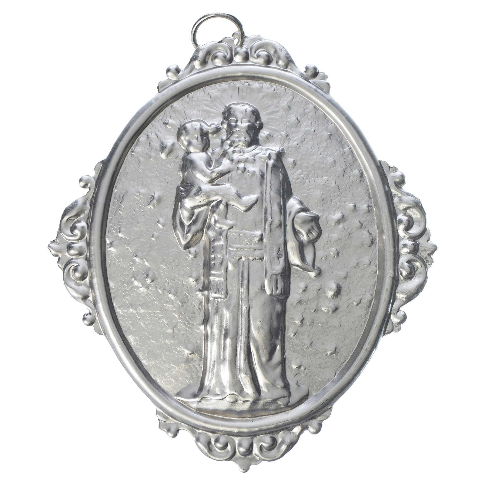 Medaglione per confraternita Sant'Antonio con Gesù 3