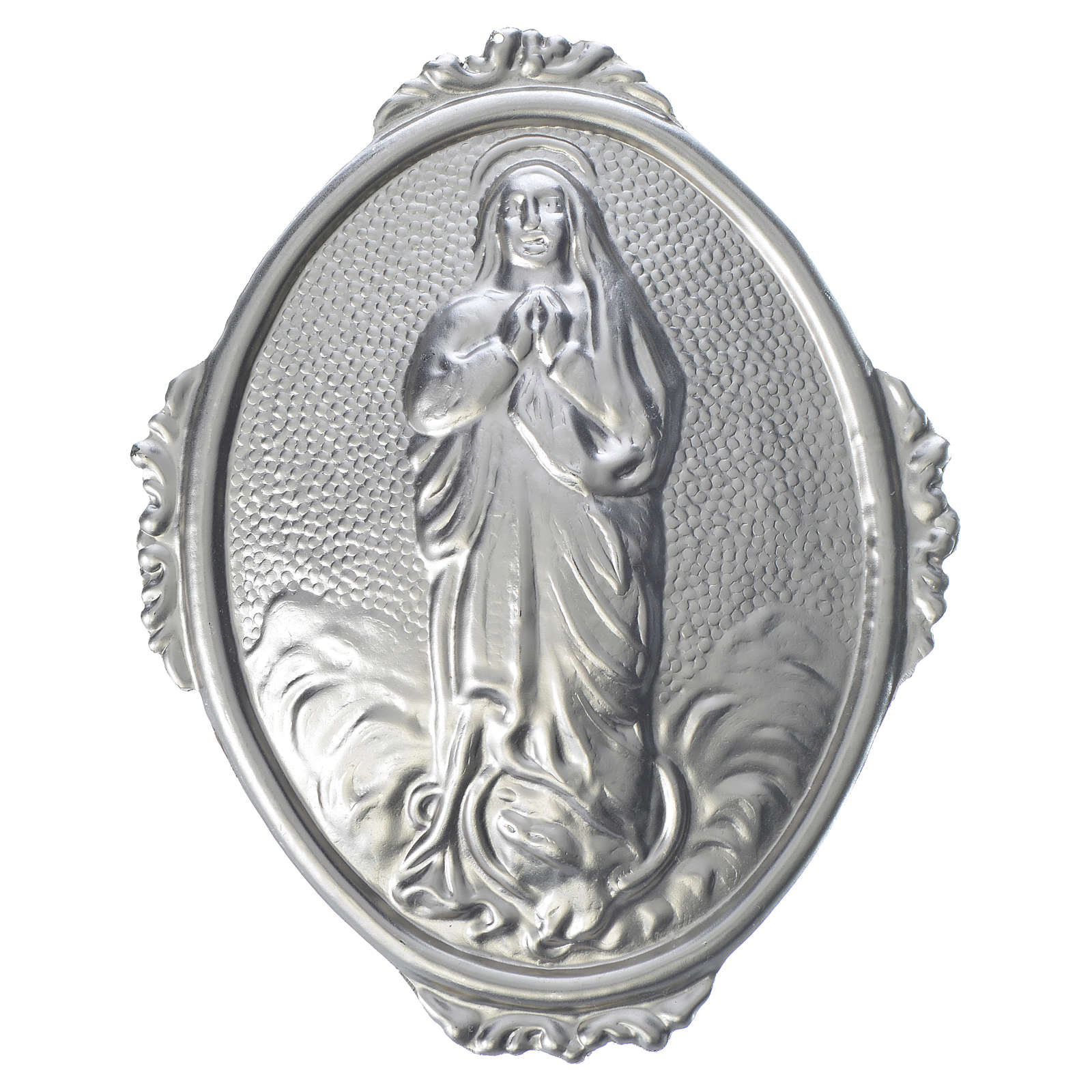 Confraternity Medal in brass, Blessed Mary Assumed into Heaven 3
