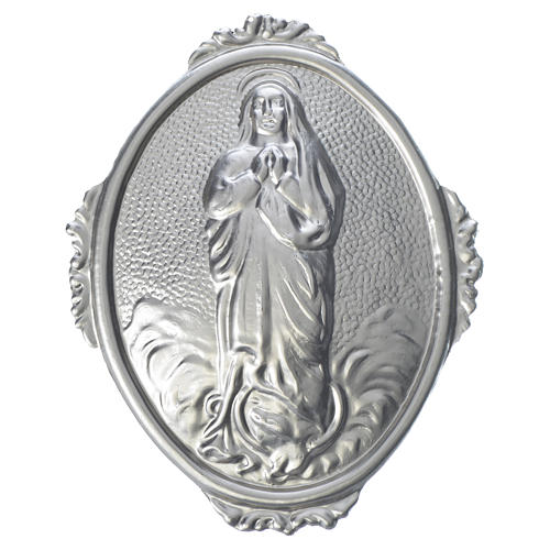 Confraternity Medal in brass, Blessed Mary Assumed into Heaven 1