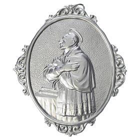 Confraternity Medal in brass, Saint Charles Borromeo s1