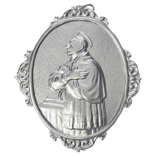 Confraternity Medal in brass, Saint Charles Borromeo 1