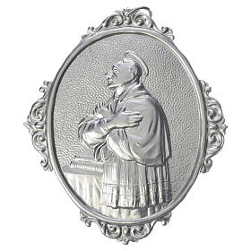Confraternity Medal in brass, Saint Charles Borromeo s1