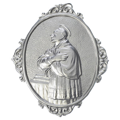 Confraternity Medal in brass, Saint Charles Borromeo 1