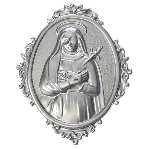 Medaillon Bruderschaften Mater Dolorosa Messing
