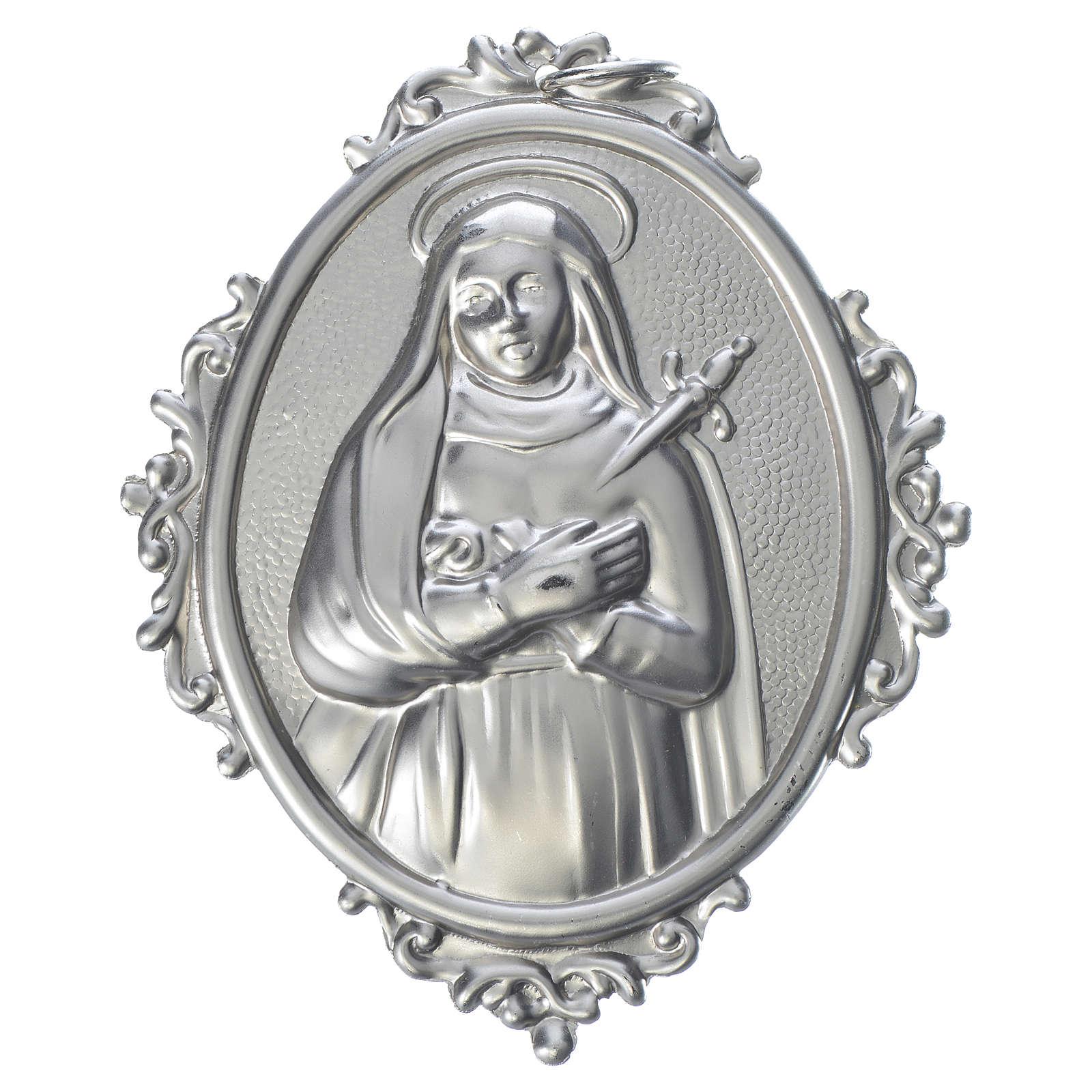 Medalla cofradía latón Nuestra Señora de los Dolores 3