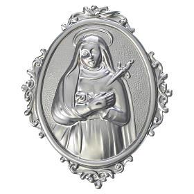 Medaglione confraternite ottone Addolorata s1