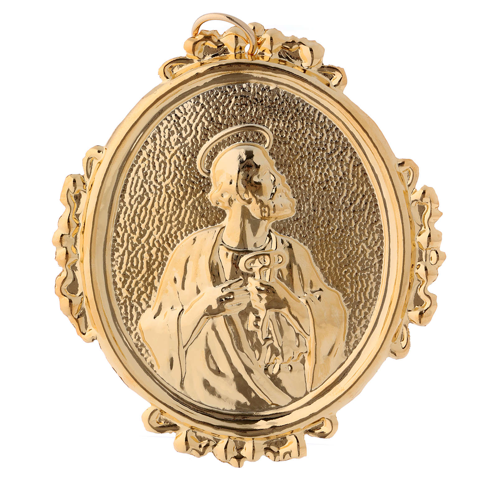 Confraternity Medal, Saint Peter in brass 3
