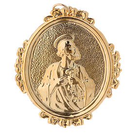 Confraternity Medal, Saint Peter in brass s1