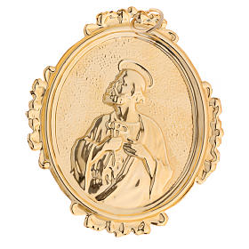 Confraternity Medal, Saint Peter in brass s2