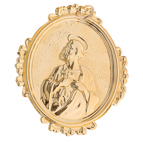 Confraternity Medal, Saint Peter in brass 2