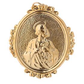 Medalla cofradía San Pedro latón s1