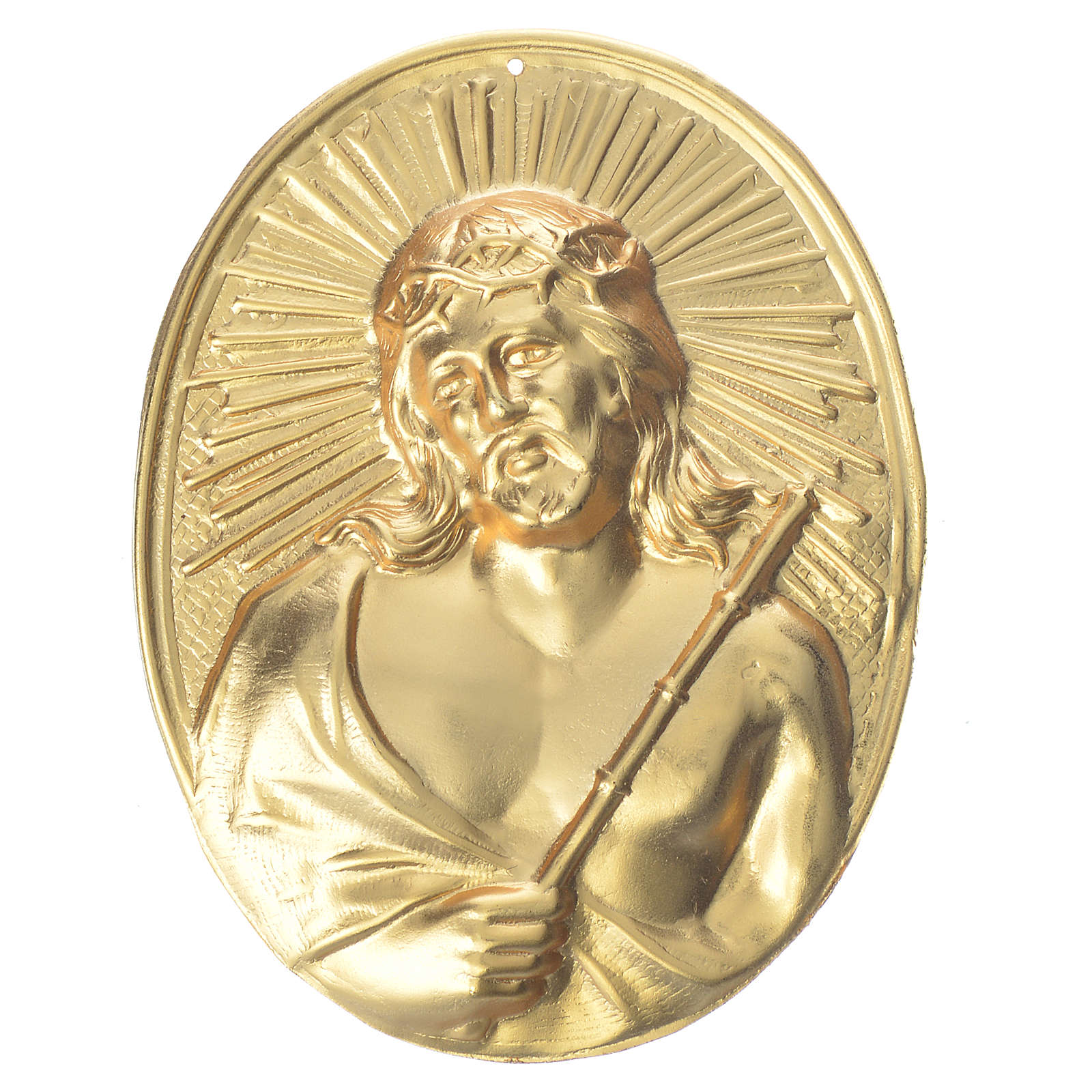 Confraternity Medal, Christ with thorns 3
