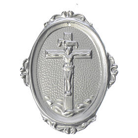 Medalla cofradía Crucifijo latón s1