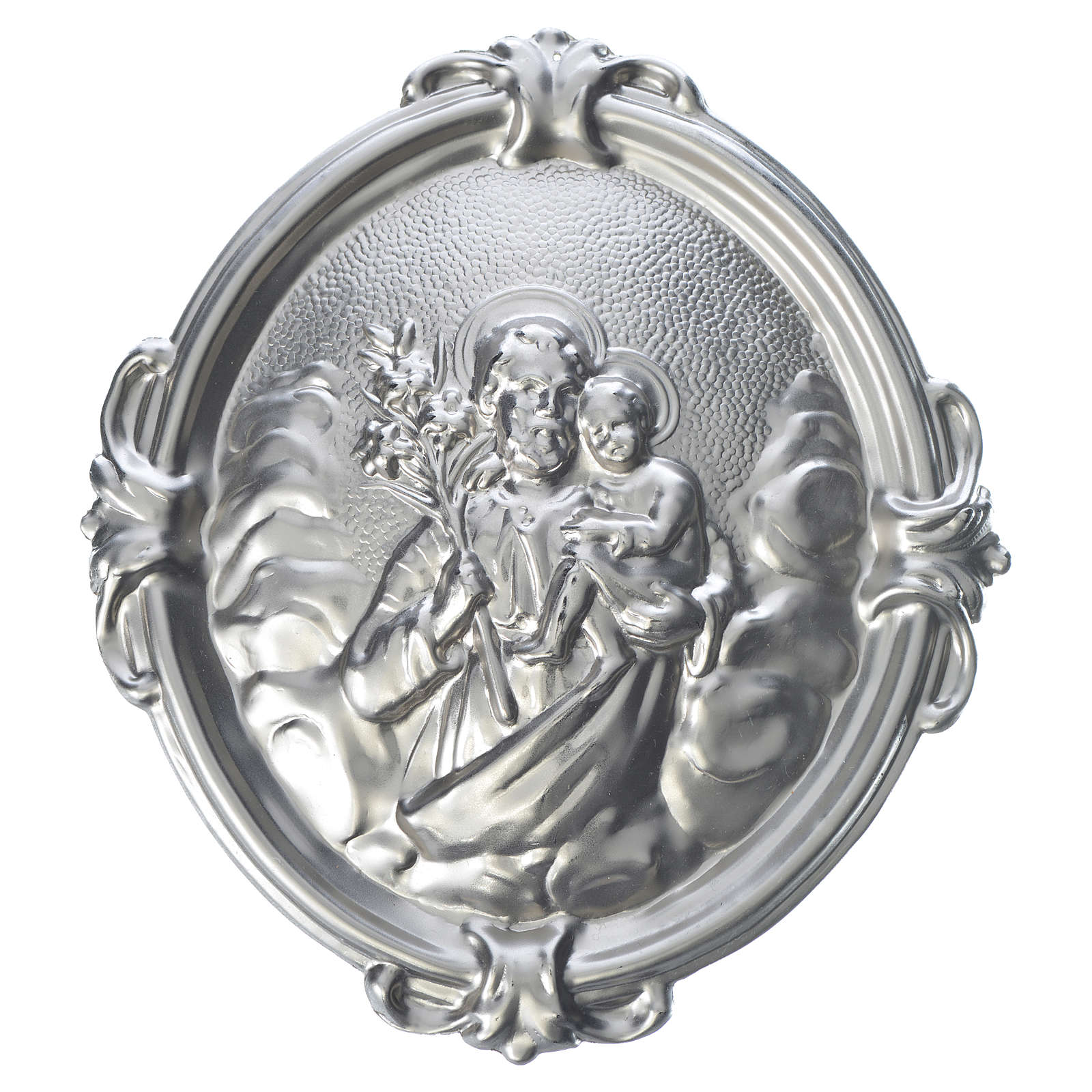 Médaille confrérie laiton Saint Joseph 3