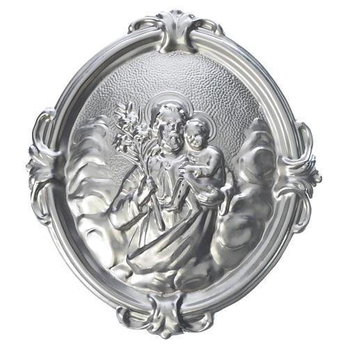 Médaille confrérie laiton Saint Joseph 1
