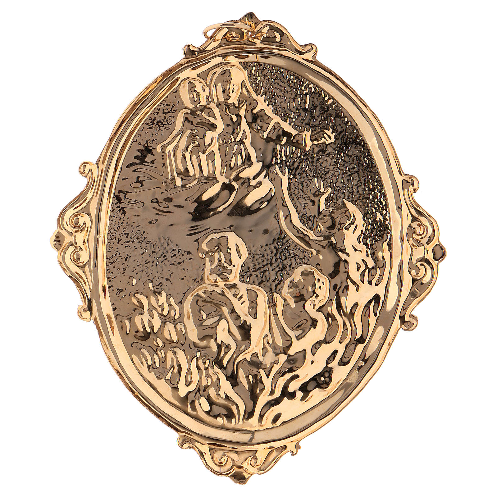 Confraternity Medal, Souls in Purgatory with Our Lady 3