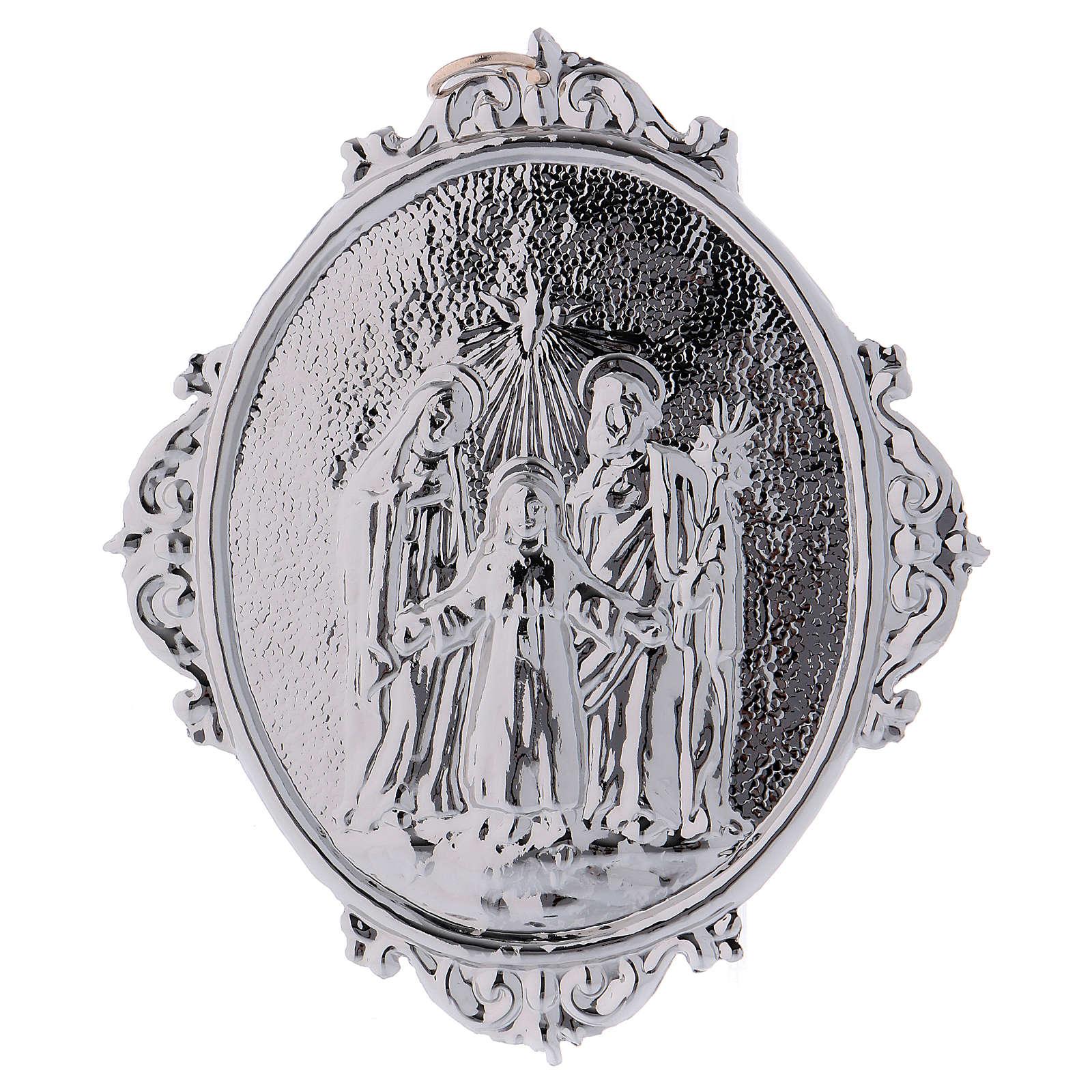 Medalla cofradía Sagrada Familia y trinidad 3