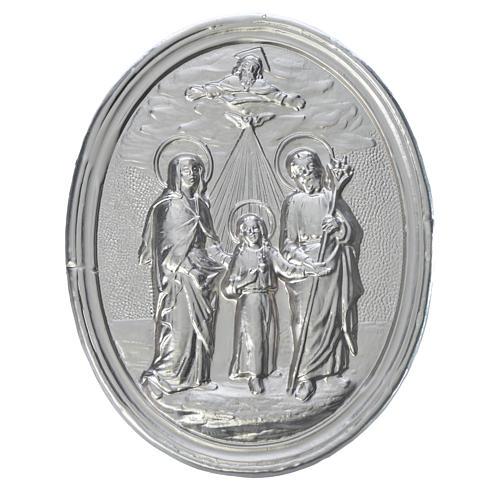 Medalla cofradía Sagrada Familia y trinidad 1