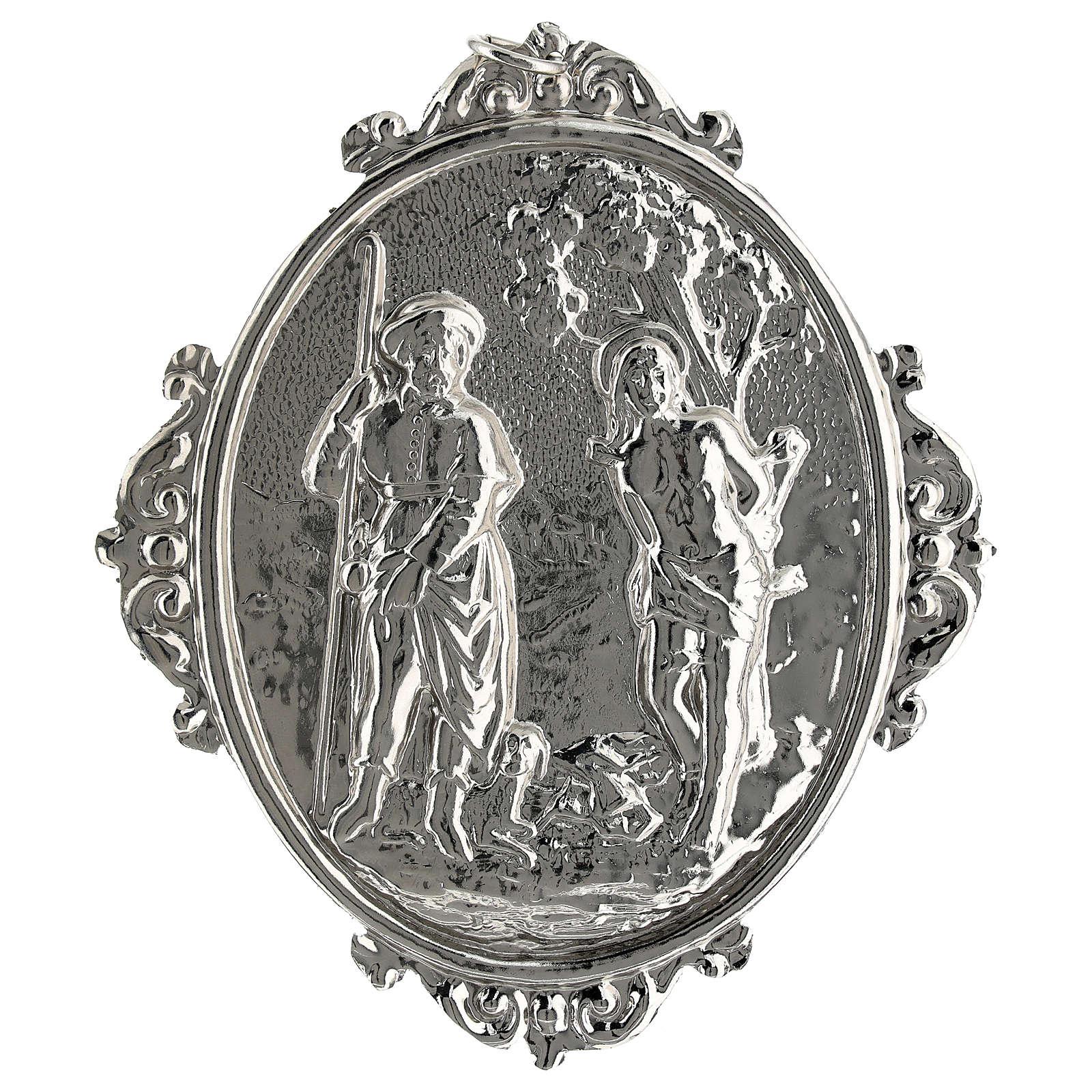 Medalla cofradía San Roque y San Sebastián 3