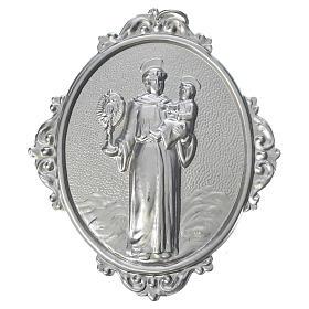 Médailles confréries et associations: Médaillon confrérie laiton St Antoine, Enfant et Ostensoir