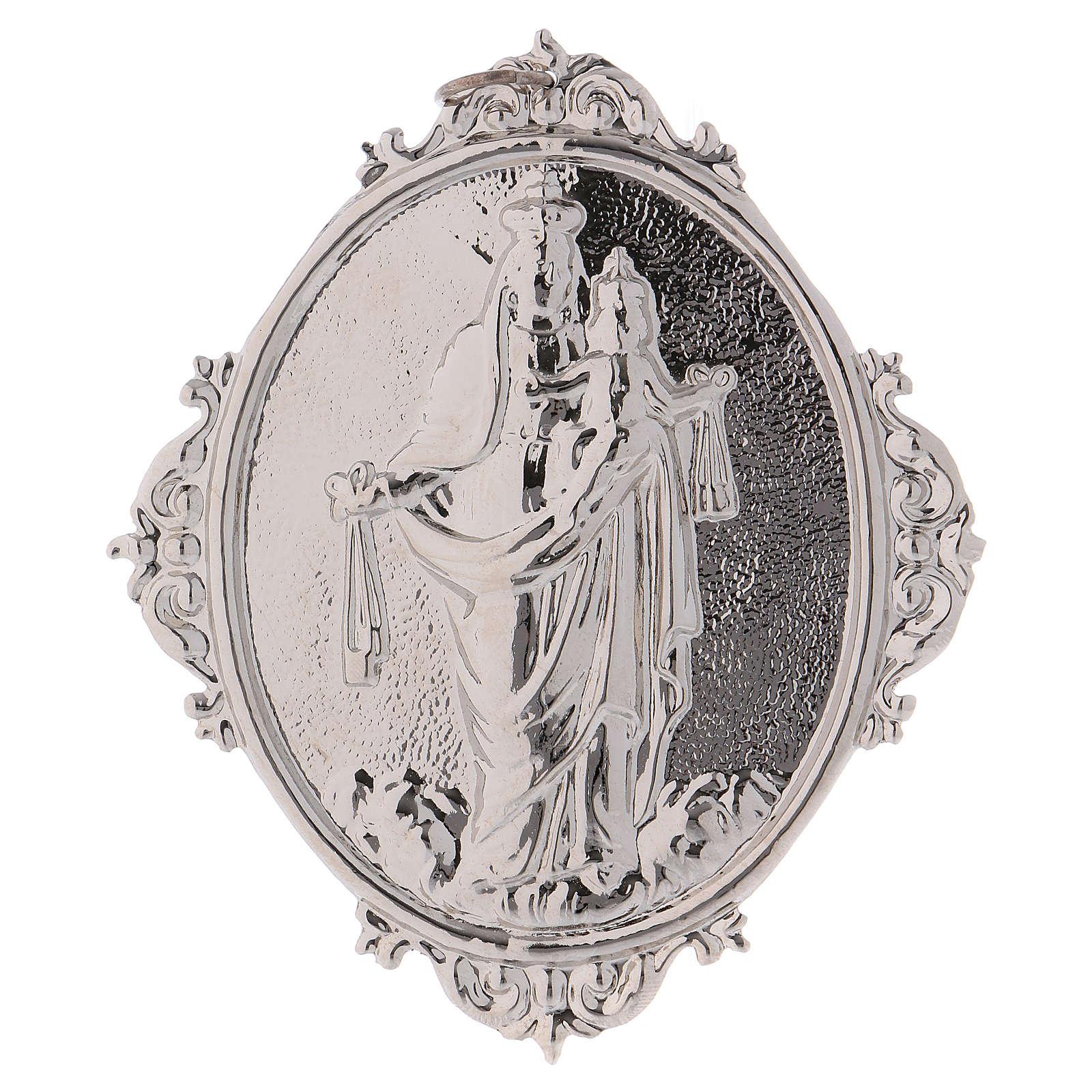 Medaglione per confraternita Madonna del Carmine 3
