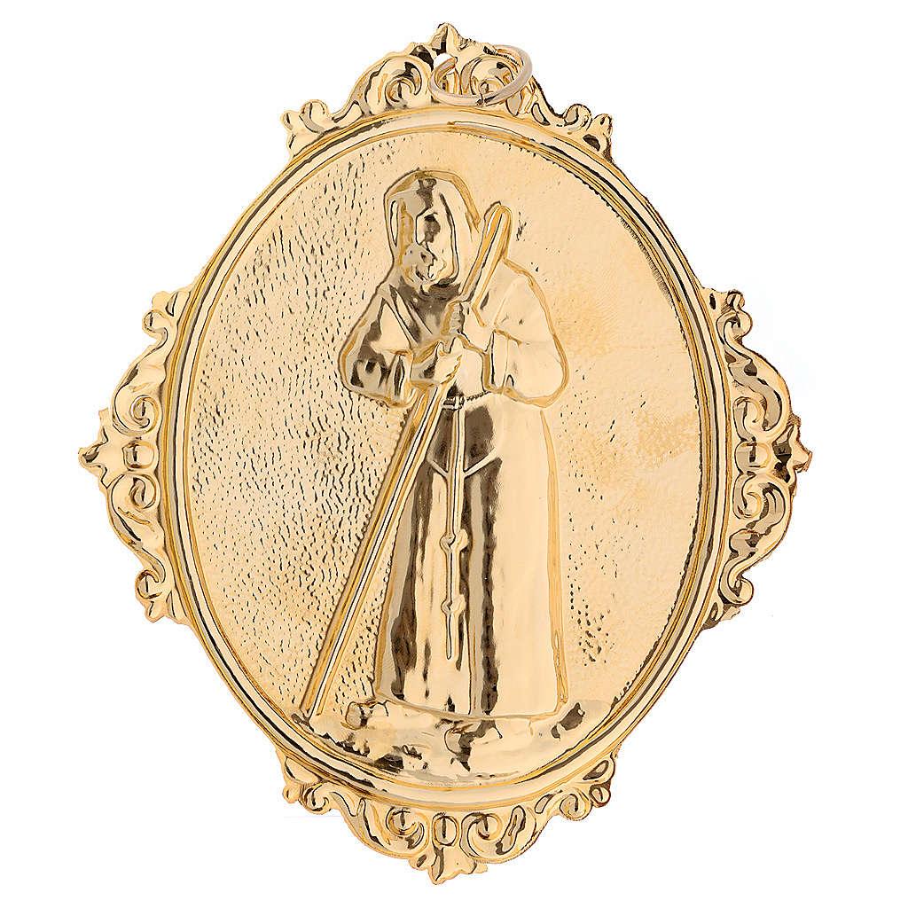 Médaillon confrérie laiton St François de Sales 3
